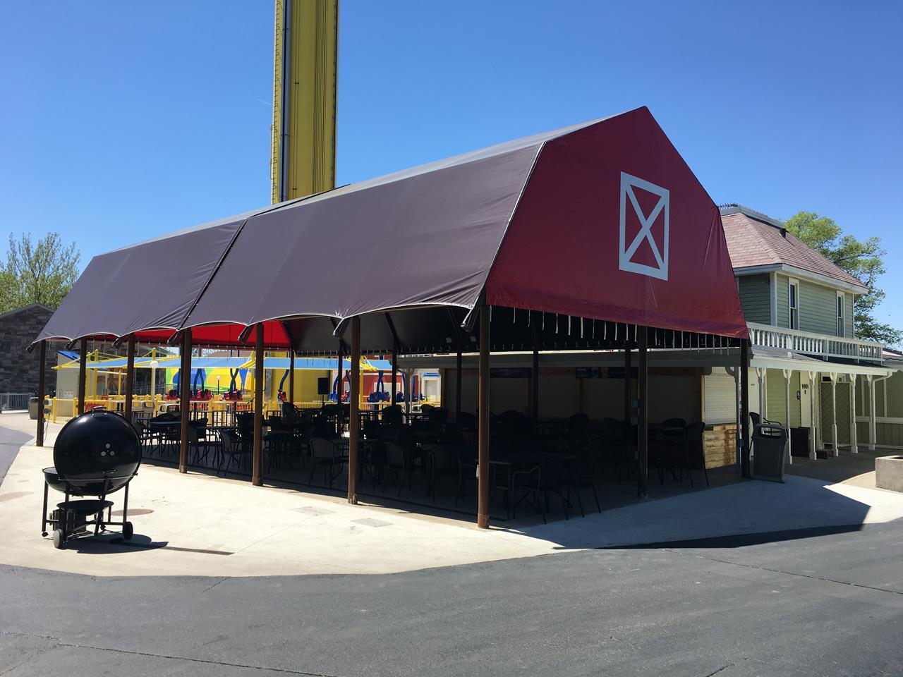 Tents That Look Like Barns : The barn waterloo tent