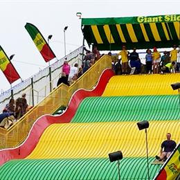 Carnival Giant Slide Cover