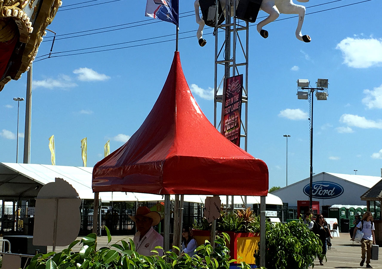 Carnival Entrance Canopies