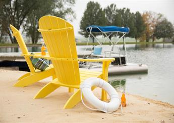 Yellow Beach Chairs