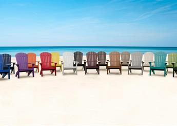 Variety of Beach Chair Colors