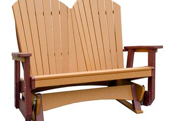 Double Glider Chair for deck, porch, or patio