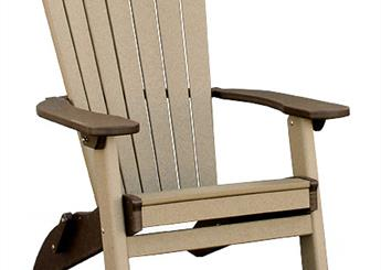Adirondack Folding Chairs for dock, porch, or patio
