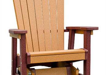 Heavy duty Adirondack Glider Chairs