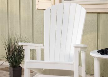 White Glider Chair option