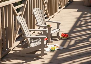 Amish Poly Sea Child's Rocker for patio or deck, etc.